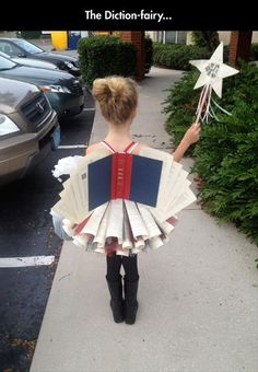 Such a cute costume! The Dictionfairy  Dump A Day Funny Pictures Of The Day - 56 Pics