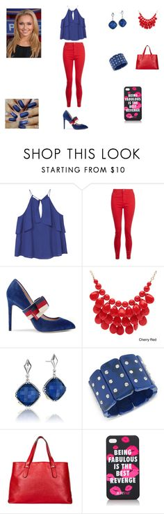 """""""Lexia Trunix #23"""" by serafinacrescent299 ❤ liked on Polyvore featuring MANGO, Gucci, Alexa Starr, Tacori, INC International Concepts, Borbonese and JustFab"""