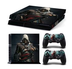 "This is Awesome for Assassin's Creed Fans!! 100% BRAND NEW AND HIGH QUALITY!! Product Detail: - Full color, ""anti-slip"" grip-like vinyl ""sticker"" - Will not scratch, fade (UV resistant) or peel - Easy"