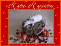 "Häkelanleitung ""Ratte Rasputin"""