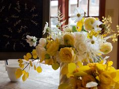 Floral arrangement designed by Studio Choo as photographed by Tec Petaja.