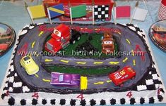 Race track cake for Brennen's birthday?