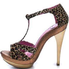 Bowie - Leopard  Promise Shoes