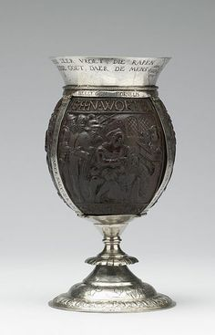 File:Cornelis de Bye - Coconut Cup with Old Testament Scenes - Walters 571046 - Side A.jpg
