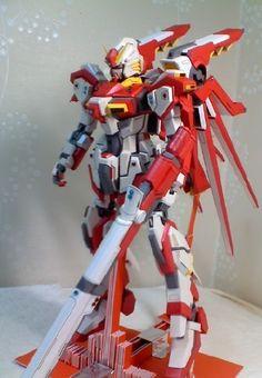 Custom EG-001 Gundam Papercraft | My Paper Craft  [Al parecer si se puede hacer]