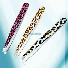 Eq0253 leopardo de moda herramienta de la belleza de la ceja del herramienta de eliminación(China (Mainland))