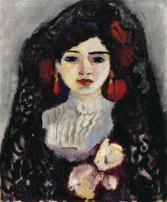Kees van Dongen Portrait d' espagnole 1910