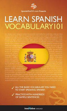 Free Kindle Book : Learn Spanish - Word Power 101
