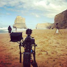 Shooting @ Gibsons Steps, Great Ocean Road