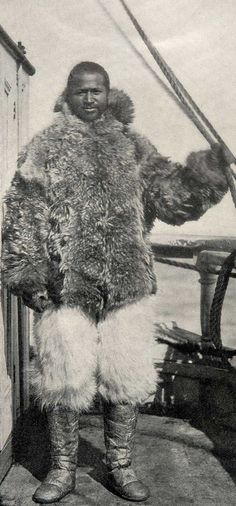 Matthew Henson ~ for 23 years was an associate with Robert Peary in the Arctic.  They may have found the geographic North Pole, but the evidence is not conclusive.