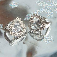 Earrings with ringstones from my love ♥ Wedding Rings, Engagement Rings, Earrings, Accessories, Jewelry, Enagement Rings, Ear Rings, Stud Earrings, Jewlery