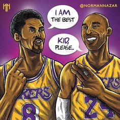 Kobe Bean Bryant pushes himself to be the greatest at everything, even to be greater than his younger self. Mvp Basketball, Basketball Legends, Basketball Quotes, Basketball Drawings, Curry Basketball, Basketball Floor, Basketball Shirts, Softball, Lebron James Lakers