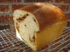 Cinnamon Raisin Bread.. This Looks so yummy. I admit this is my all time fav bread. I can hardly wait to make this.