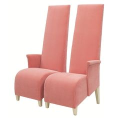 Philippe Starck designed these armchairs for the Paramount Hotel in NYC