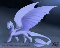 Night Lights Children of Toothless Adults - Httyd by SnexMy on DeviantArt Httyd Dragons, Got Dragons, Dreamworks Dragons, Dragon Names, Dragon Art, How To Train Dragon, How To Train Your, Beautiful Dragon, Dragon Trainer