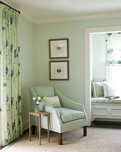 Benjamin Moore Woodland White: this is the color I'm planning to paint the master bedroom. What do you think?