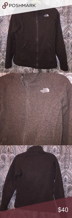 Women's northface Toffee colored North Face jacket/shell. Made of 100% polyester. Has a soft, thick lining, worn a couple times outdoors. The North Face Jackets & Coats