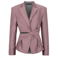 Haider Ackermann Blazer with pleated detail
