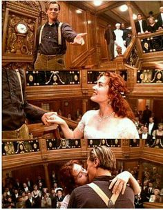 Titanic Movie Trivia: The clock in this scene is stopped at AM; the approximate time the Titanic sank. Titanic Movie, Rms Titanic, Movies And Series, Movies And Tv Shows, Love Movie, Movie Tv, Leo And Kate, Romantic Movies, Film Serie