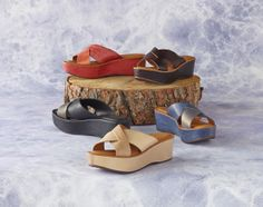 Meet the sandals you'll never want to take off. From Kork-Ease®