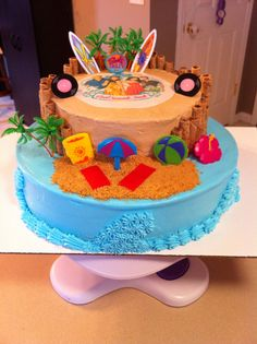 Teen beach cake