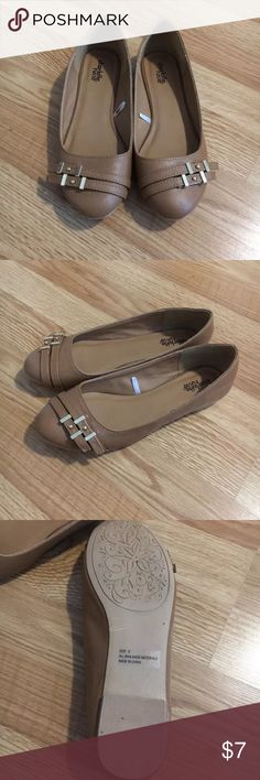 Charlotte Russe flats Worn once or twice. Great condition Charlotte Russe Shoes Flats & Loafers