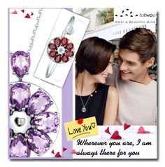 """""""Wherever you are, I am always there for you"""" by totwoo ❤ liked on Polyvore featuring WearableTech, totwoo and smartjewelry"""