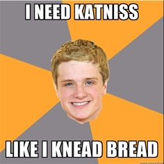 We've rounded up 20 of the best memes from 'The Hunger Games' including Advice Peeta, Sad Gale, and Advice Katniss. Hunger Games Memes, The Hunger Games, Hunger Games Catching Fire, Hunger Games Trilogy, Johanna Hunger Games, Katniss Everdeen, Katniss Und Peeta, Johanna Mason, Suzanne Collins