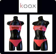 Bikini Paillettes Rosso Costume da bagno Swimwear Due pezzi Moda Mare Due pezzi