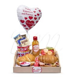 Gift Baskets, Unique Gifts, Cheese, Box, Birthday Breakfast, Breakfast Basket, Surprise Gifts, Baskets, Afternoon Snacks