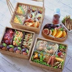 A great food is a food that contains complete nutrition and has a delicious flavor. And that kind of great foods can be applied on your healthy lunch ideas. Bento Recipes, Healthy Recipes, Comida Picnic, Cute Food, Yummy Food, Food Platters, Aesthetic Food, Snacks, Food Packaging
