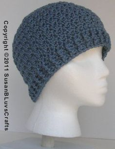 Griddle Stitch Beanie - Free Crochet Pattern - Handcrafting With Love