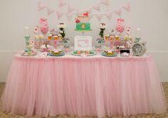 Little Wish Parties | Shabby Chic Alice In Wonderland Party | https://littlewishparties.com