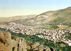 Nablus-نابلس: NABLUS - Late 19th, early 20th c. 1 (1890)