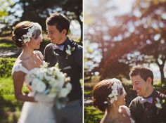 hair up do and mini veil with flowers is nice rustic_seattle_wedding_04