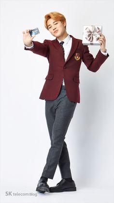 [Picture] BTS X SK Telecom Studio Filming Cut [160305] JIMIN                                                                                                                                                                                 More