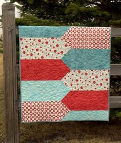 Quilt Patterns For Baby   Baby Quilt Pattern Download from ConnectingThreads.com Quilting ...