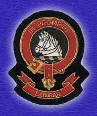 Scottish Clans - crest badge for Dunbar clan