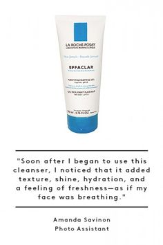 La Roche-Posay Effaclar Purifying Foam Gel $23 at CVS. Always liked this brand.
