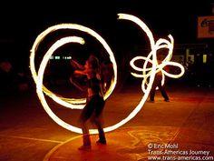 Poi (Fire Spinning) - www.trans-americas.com