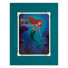 Ariel Longing to Dance Deluxe Print by Larry Nikolai | Posters & Prints | Disney Store