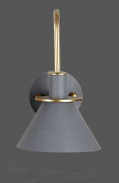 gray Industrial Led Lighting, Modern Industrial, Kitchen Lighting Fixtures, Modern Light Fixtures, Led Wall Lamp, Led Wall Sconce, Living Room Restaurant, Restaurant Lighting, Wall Mounted Light