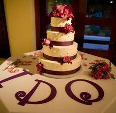 Wedding, Cake: love this Ribbon wedding cakes, Floral wedding cakes