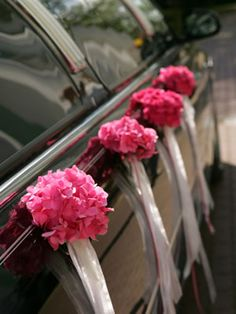 Wedding Transportation is all about getting the bridal party to the church on time. Pick a reputable wedding car hire company as punctuality and safety is paramount. Luxury Wedding, Wedding Bride, Wedding Flowers, Wedding Day, Wedding Venues, Gold Wedding, Wedding Reception, Destination Wedding, Wedding Car Decorations
