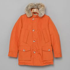 So want this coat >>Woolrich Arctic Parka DF in Rust London Shopping, Arctic, Canada Goose Jackets, Parka, Rust, Raincoat, Winter Jackets, Coats, Mens Fashion