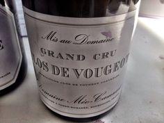 El Alma del Vino.: Domaine Méo-Camuzet Clos de Vougeot Grand Cru 2011.
