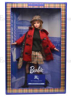 バーバリー ブルーレーベル バービー Burberry Blue Label Barbie Doll - バービー人形・ファッションドール通販 エクスカリバー Excalibur