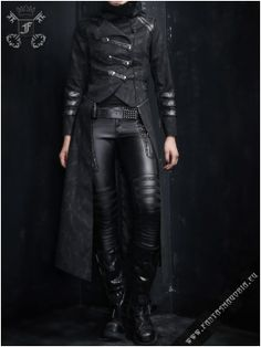 Scorpio Jacket-Coat | Gothic, Steampunk, Rock, Fetish, and other Alternative fashion retail and wholesale apparel & accessories