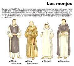 Els monjes de la edat mitjana