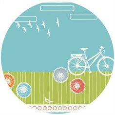 $15/yard Jay-Cyn Designs for Birch Fabrics Commute, Organic, By Bike